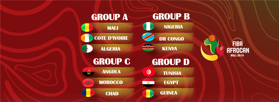 The 12 countries have been drawn into four groups of three with the final scheduled to take place on July 27 ©FIBA