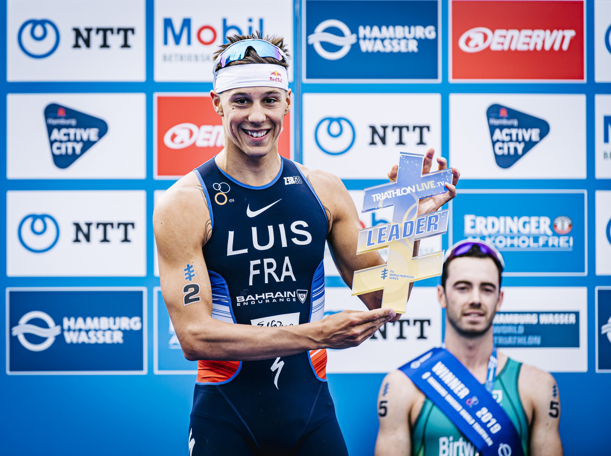 Rankings leader Luis targets World Triathlon Series victory in Edmonton