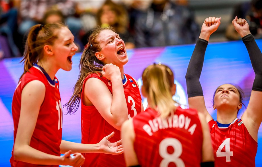 Russia are among the four teams through to the semi-finals at the FIVB Women's Under-20 World Championship in Mexico ©FIVB