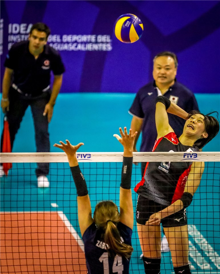 Japan maintained their unbeaten record by defeating Poland in four sets in Pool F ©FIVB
