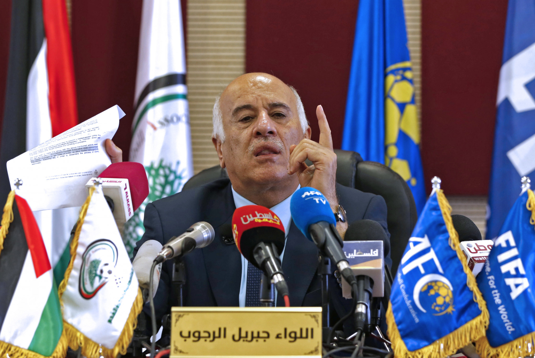 Palestine FA President Rajoub loses appeal against ban for inciting hatred towards Messi