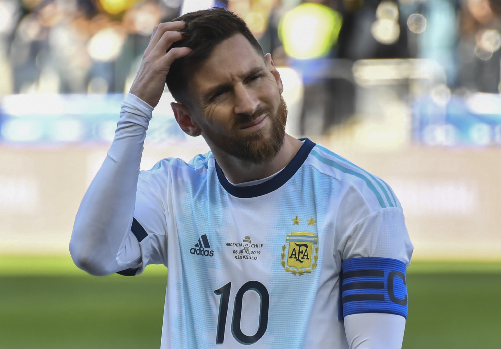 Jibril Rajoub was found to have incited hatred and violence towards Argentina's Lionel Messi last year ©Getty Images