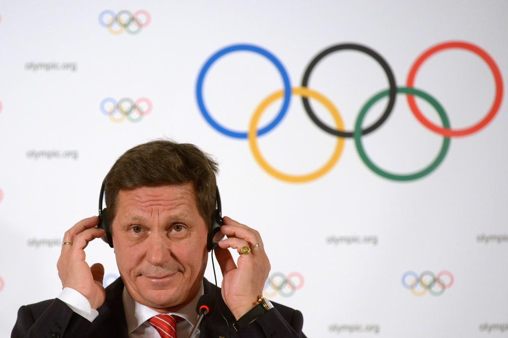 Russian Olympic Committee President Alexander Zhukov says his country is determined to compete at Rio 2016