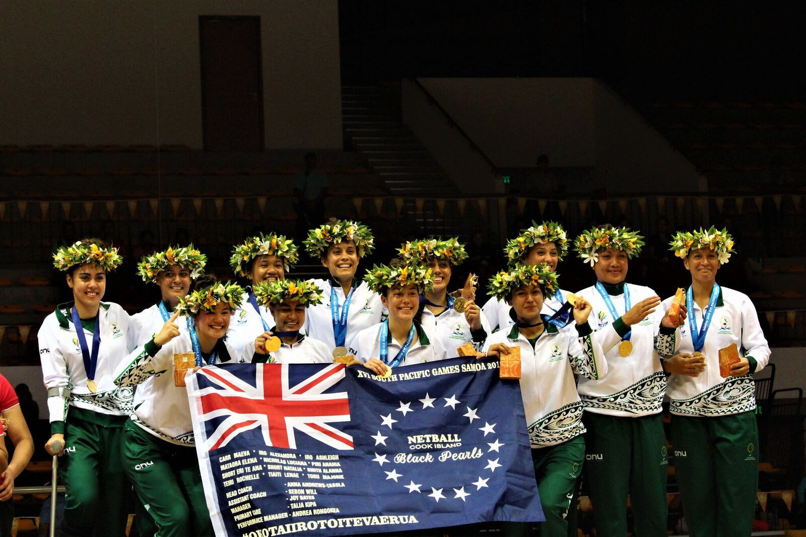 Cook Islands win first Pacific Games netball title in 28 years after dramatic last-second victory over Tonga
