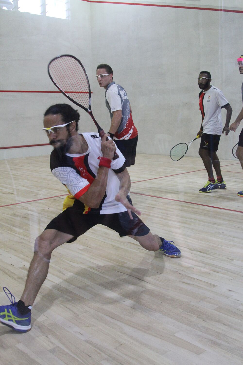 There were plenty of other medal events on the final Friday in Samoa, including squash ©Games News Service
