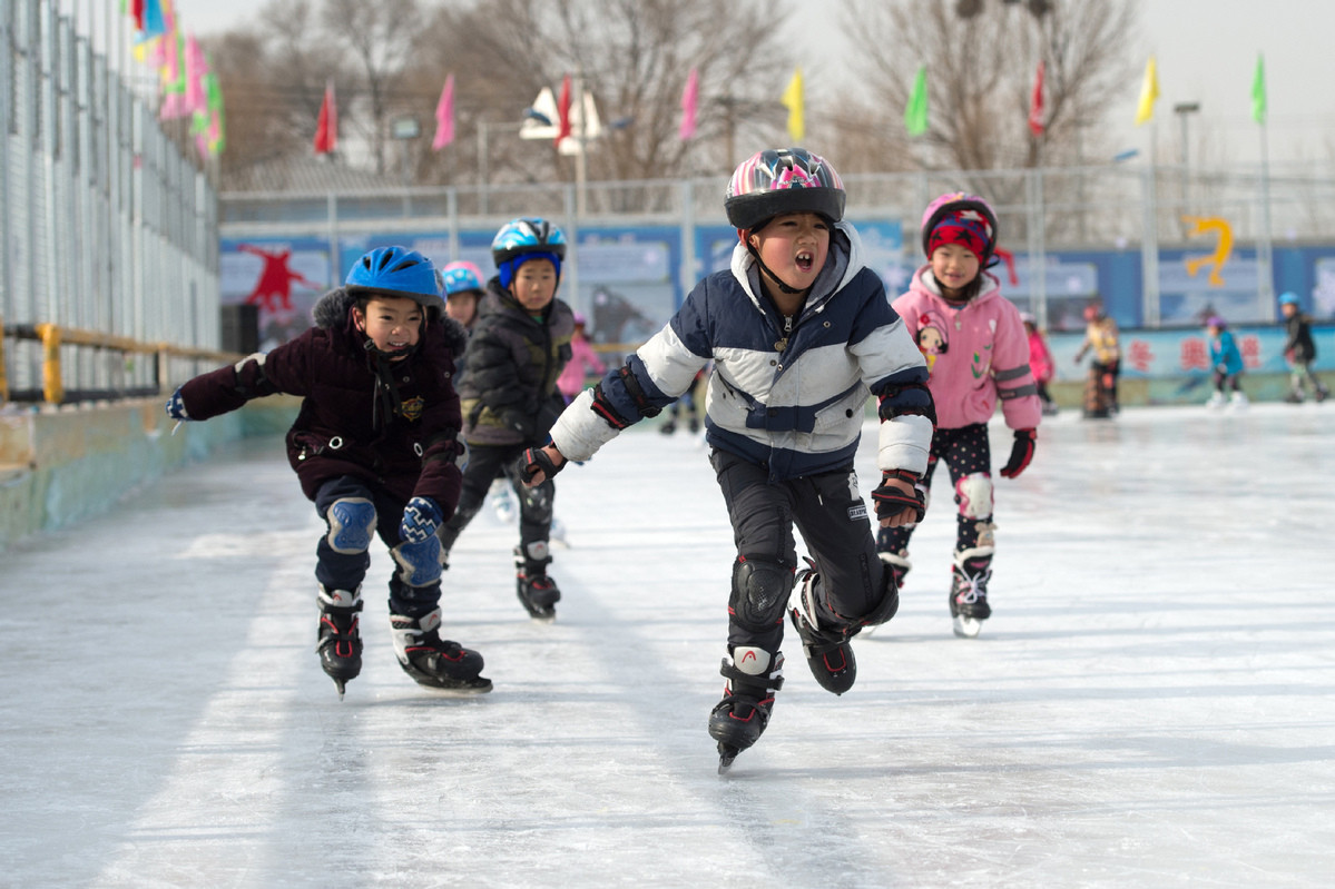 Beijing 2022 is aiming to get 300 million Chinese involved in winter sports ©Xinhua