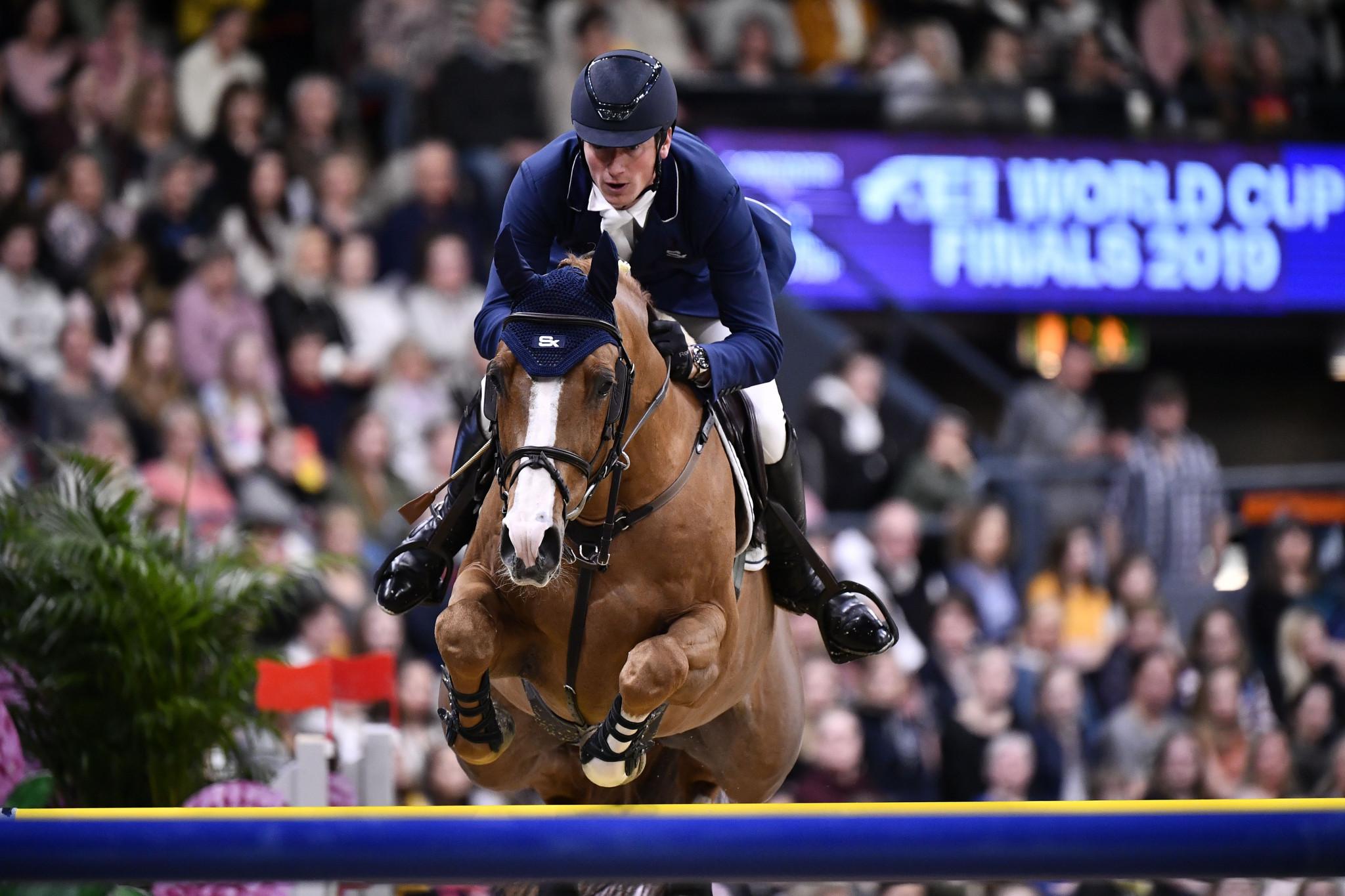 Home rider Deusser tastes victory at World Equestrian Festival in Aachen