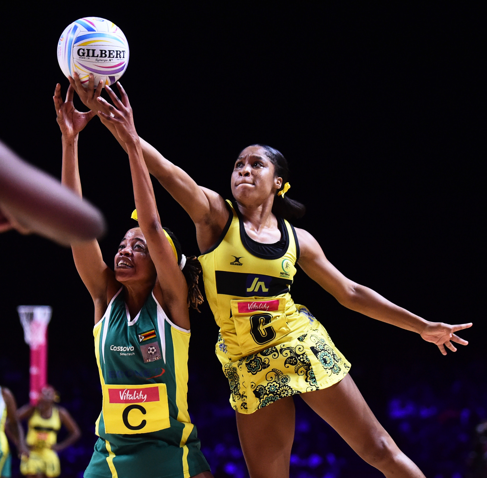 Jamaica defeated Zimbabwe 77-47 to secure their spot in the fifth-place playoff ©Getty Images