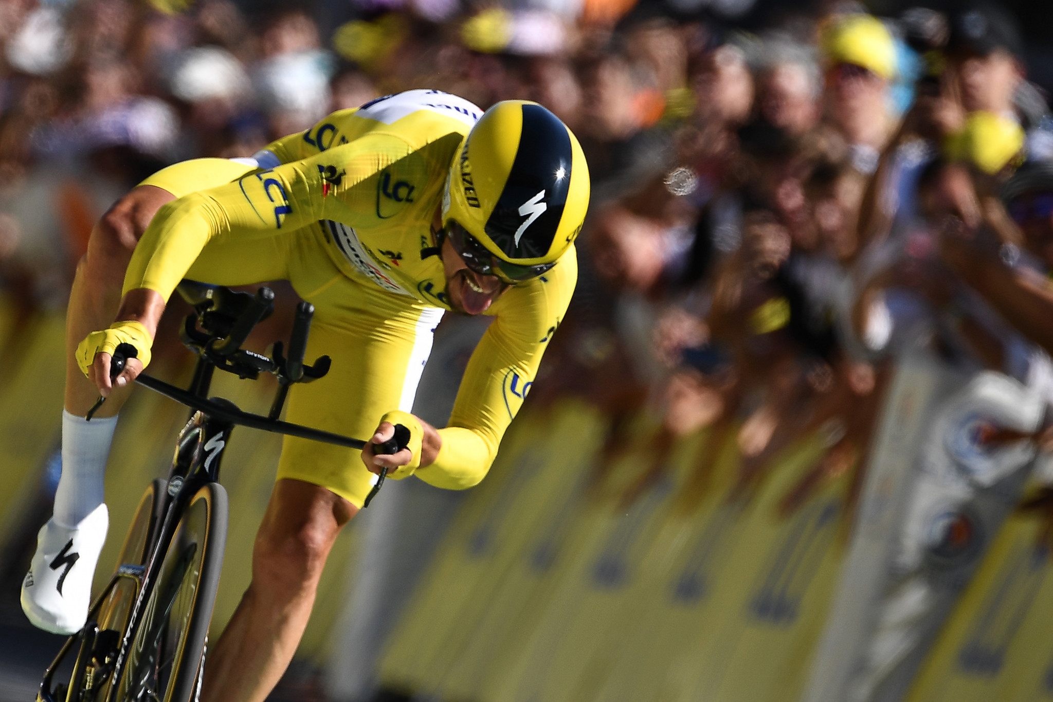 Alaphilippe extends overall lead with time trial victory on stage 13 at Tour de France