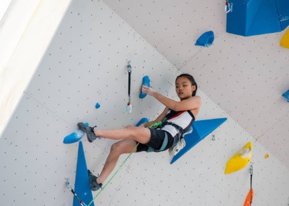 Overall leader Seo sends message with semi-final win at IFSC Lead World Cup