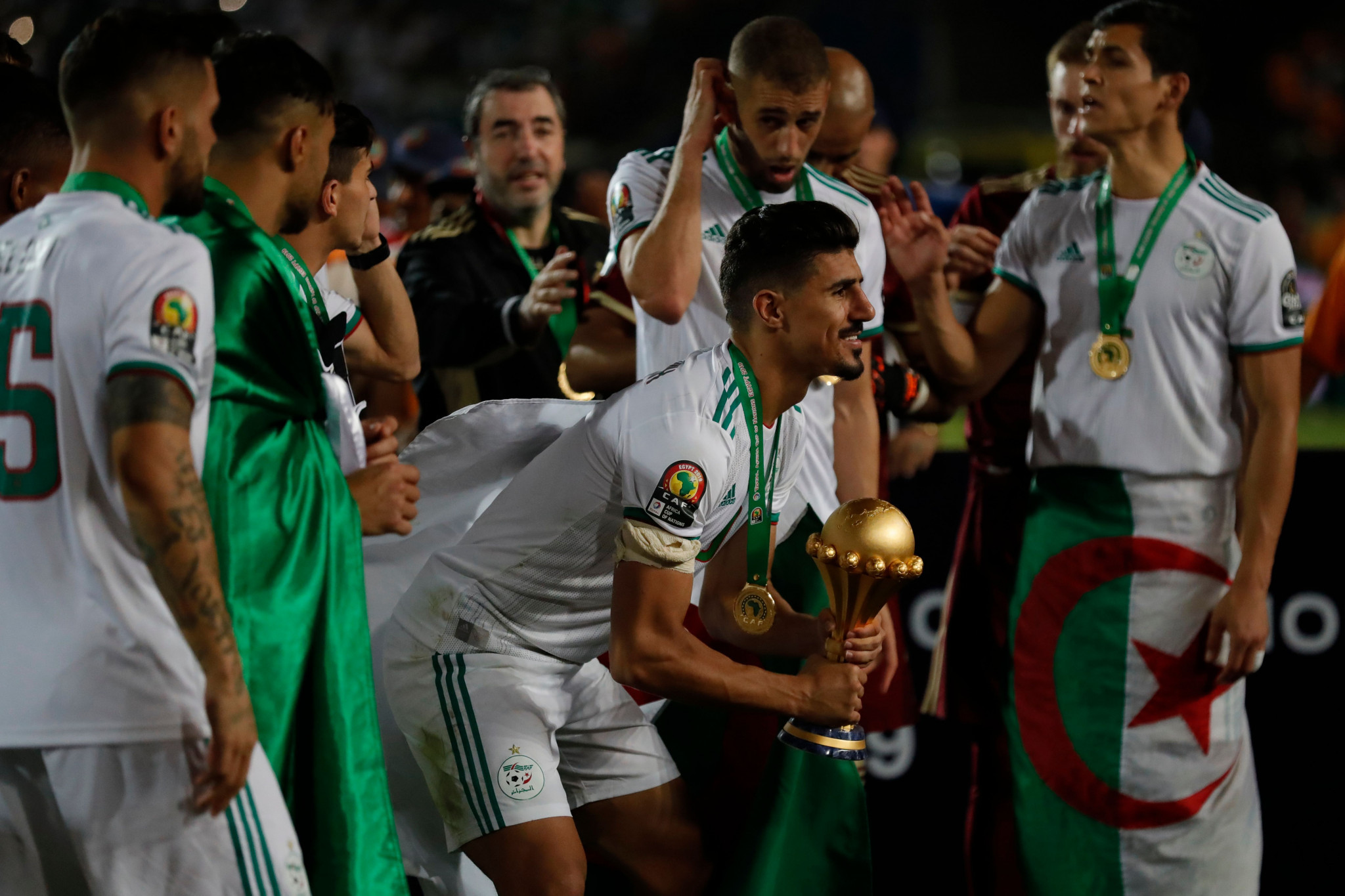 Bizarre early goal sees Algeria win Africa Cup of Nations