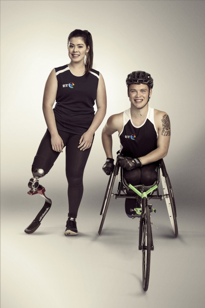 Young Paralympians Rogers and Rowlings announced as latest BT Ambassadors
