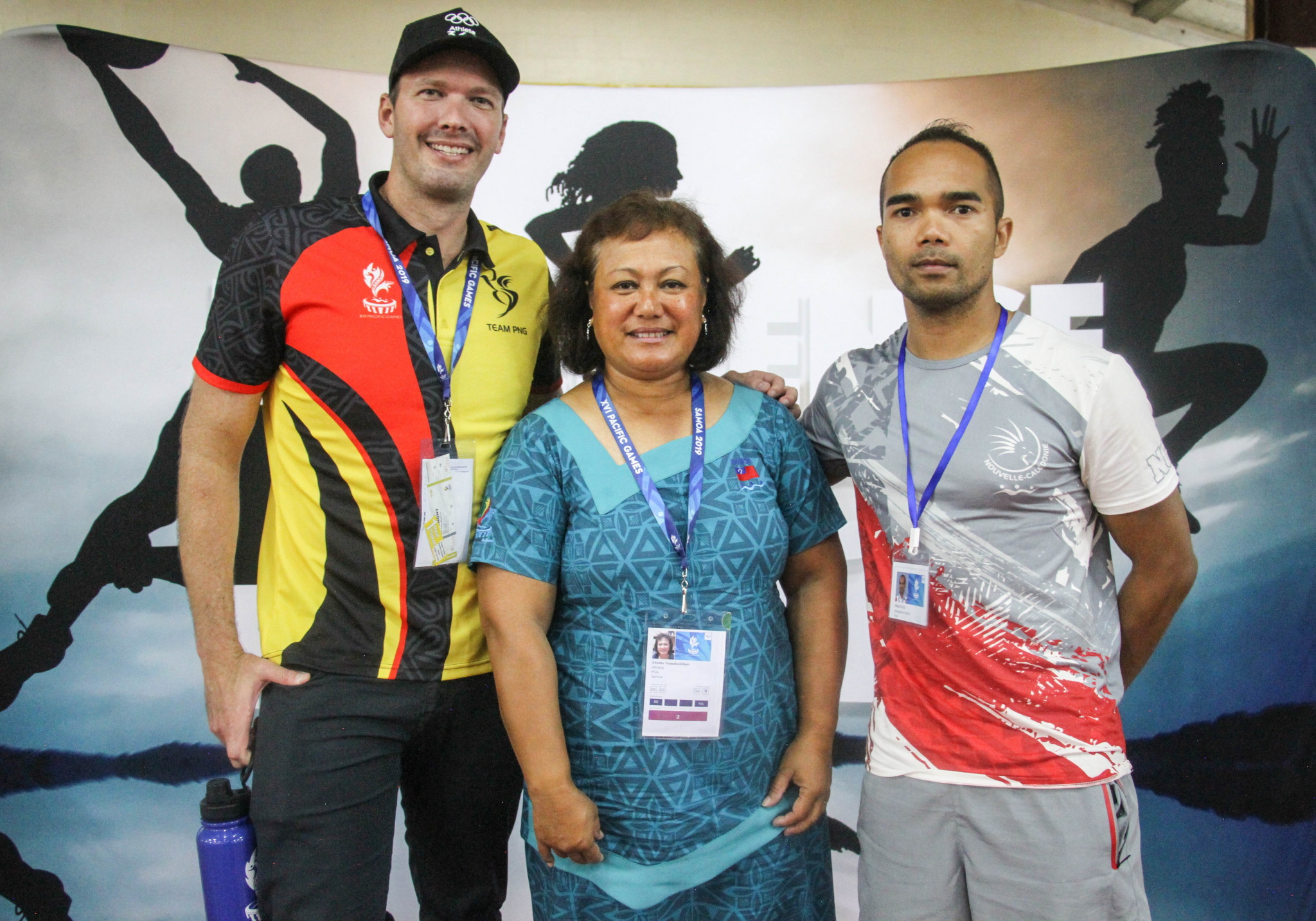Pini secures second term as Pacific Games Council athlete representative as Samoa 2019 swimmers honoured