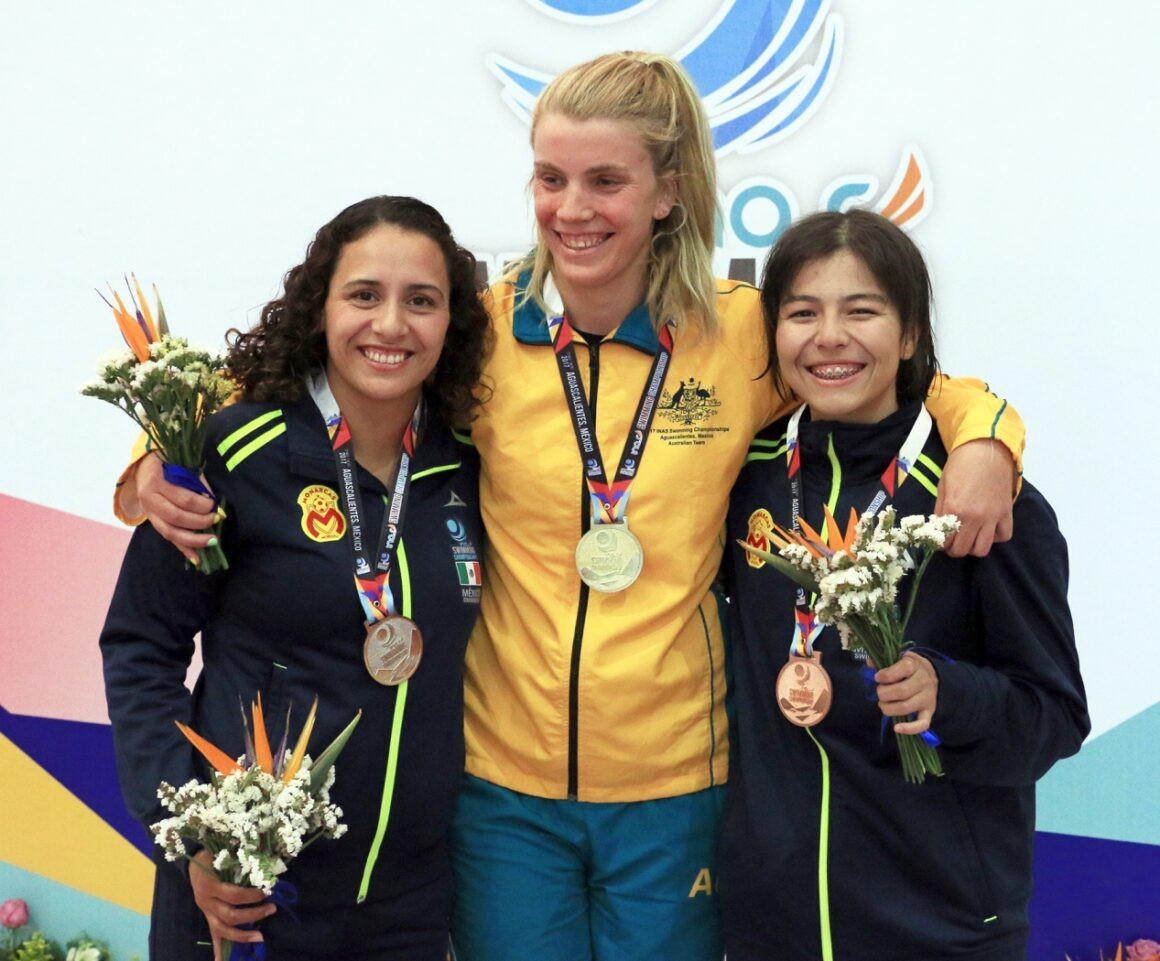 London 2012 Olympian named on Australian swimming team for INAS Global Games