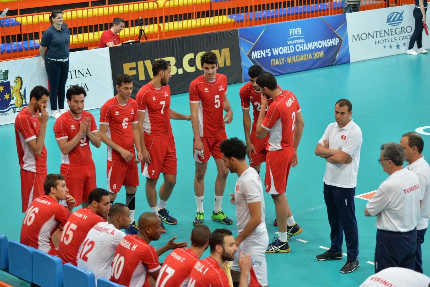 Tunisia are aiming for their 10th title at the African Men's Volleyball Championships ©FIVB