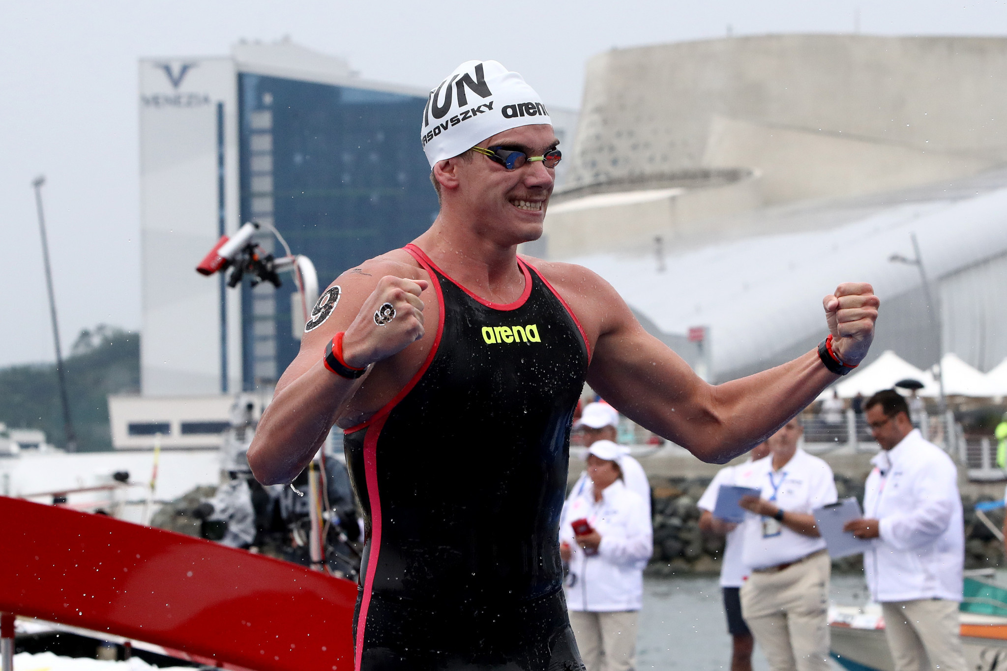 Recently-crowned world champion Rasovszky set to compete at FINA Marathon Swim World Series