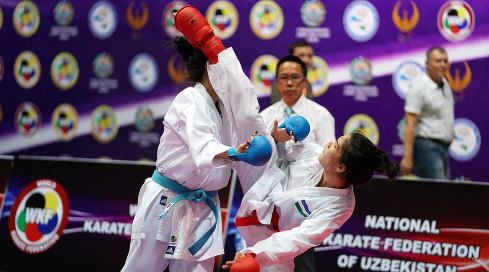 Japan earn six titles but Uzbek hosts also golden at Asian Karate Championships