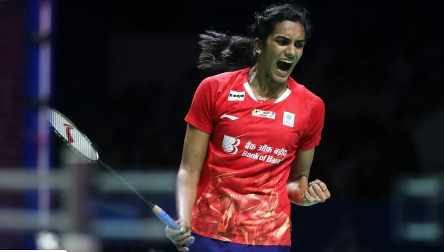 India's Pusarla Venkarta Sindhu reached her first final of 2019 by defeating second seed Chen Yu Fei of China ©BWF