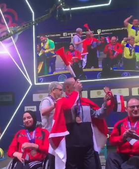 Osman leads Egypt to victory in first mixed team event at World Para Powerlifting Championships in Nur-Sultan