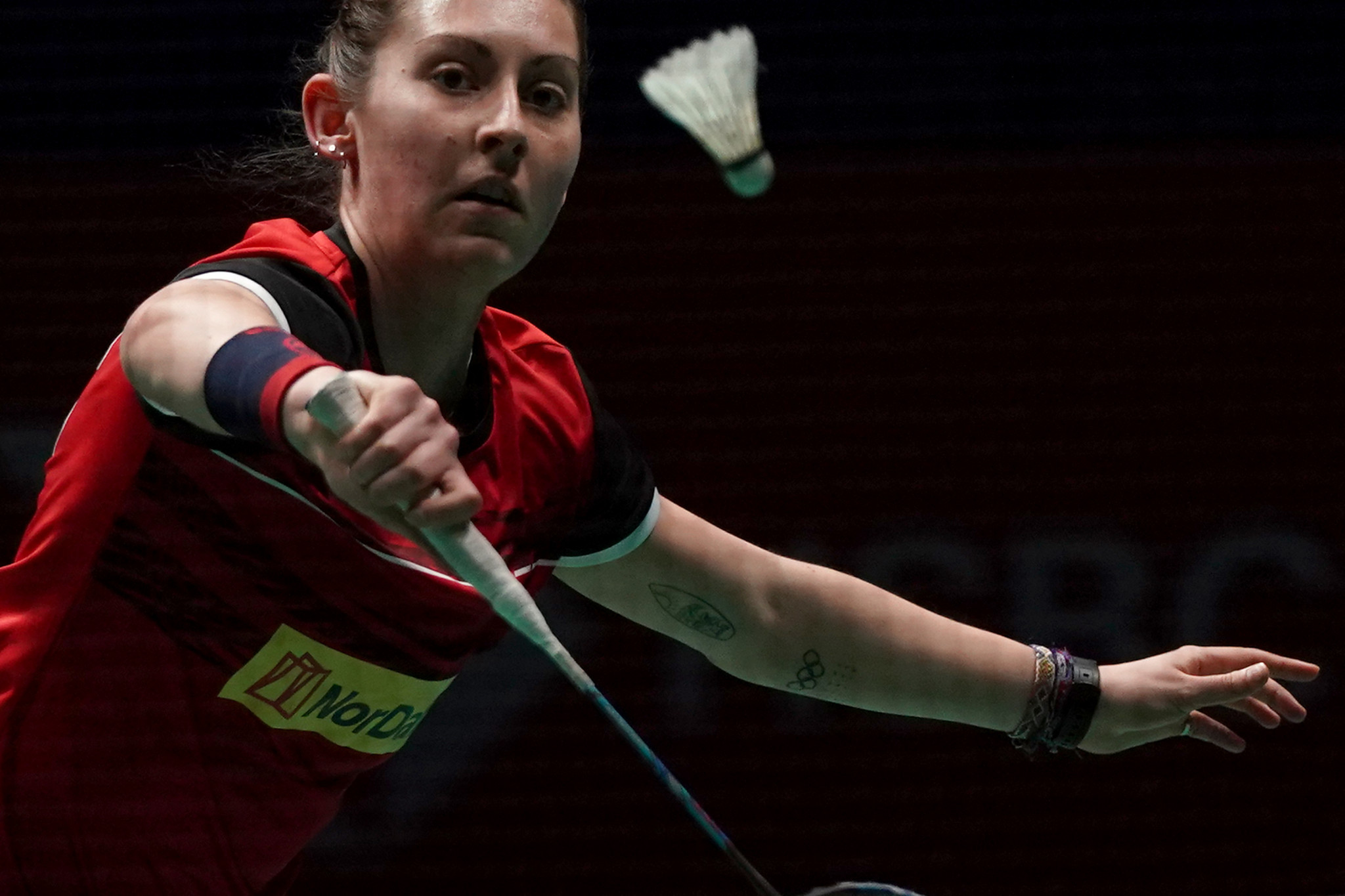 Top seed Gilmour reaches final of BWF Russian Open