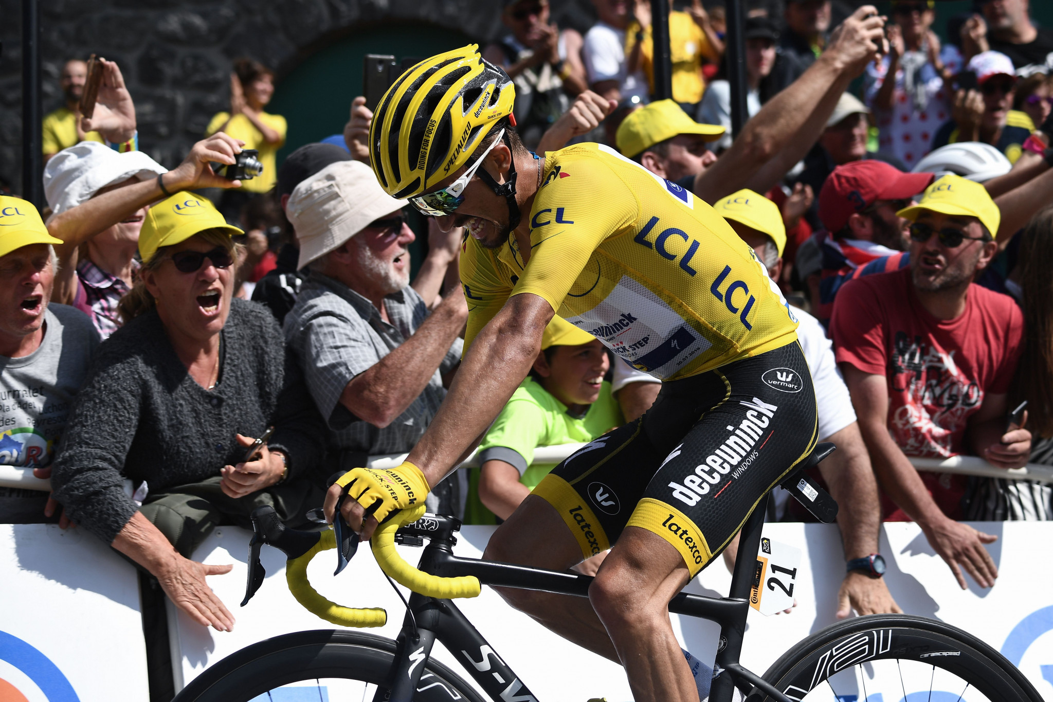 Alaphilippe extends lead as Thomas loses time on gruelling 14th stage at Tour de France