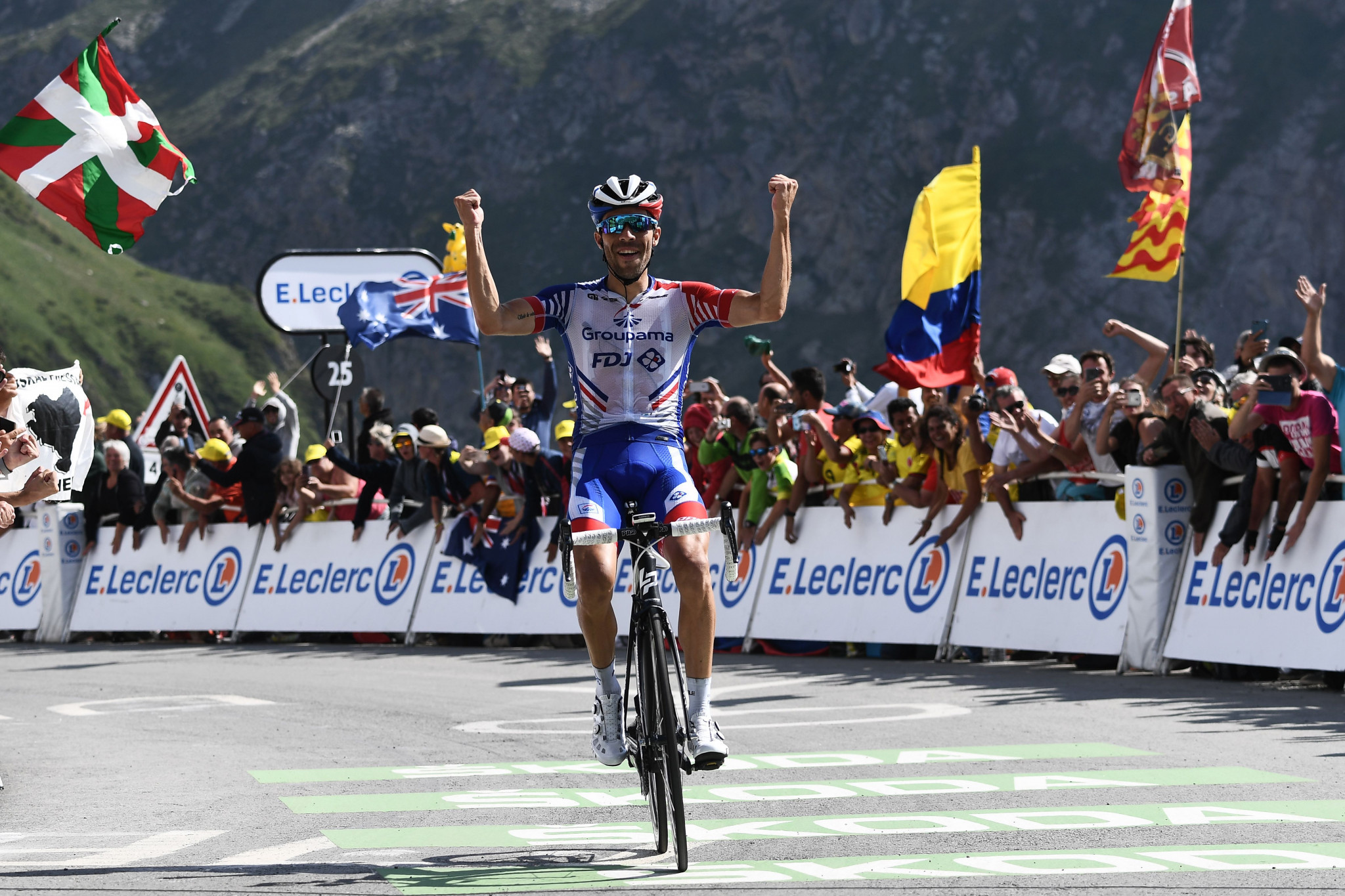 Thibaut Pinot produced a superb display to win stage 14 ©Getty Images