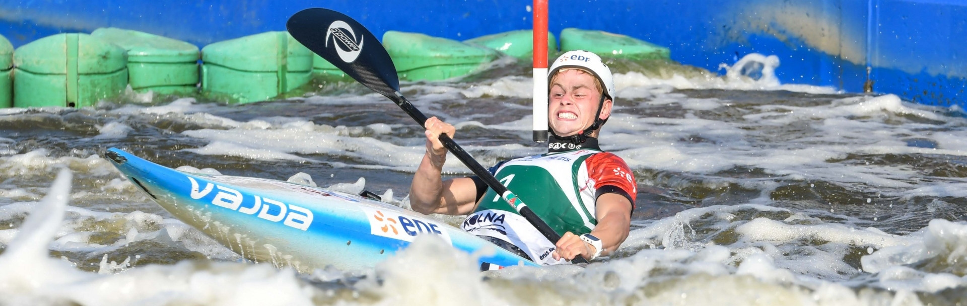 France's Delassus impresses to win junior K1 at ICF Junior and Under-23 Canoe Slalom World Championships