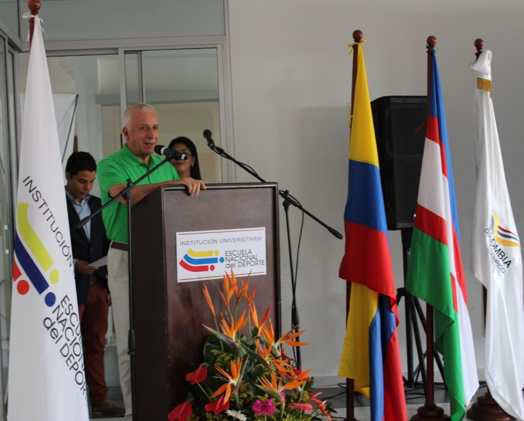 Colombian Olympic Committee President launches second edition of GOLD sport administration course