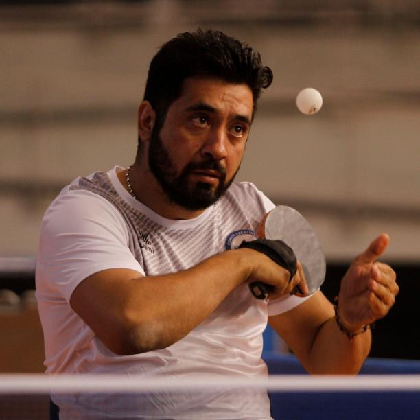 Table tennis player Luis Flores has been named as the Americas Paralympic Committee athlete of the month for June ©CPC
