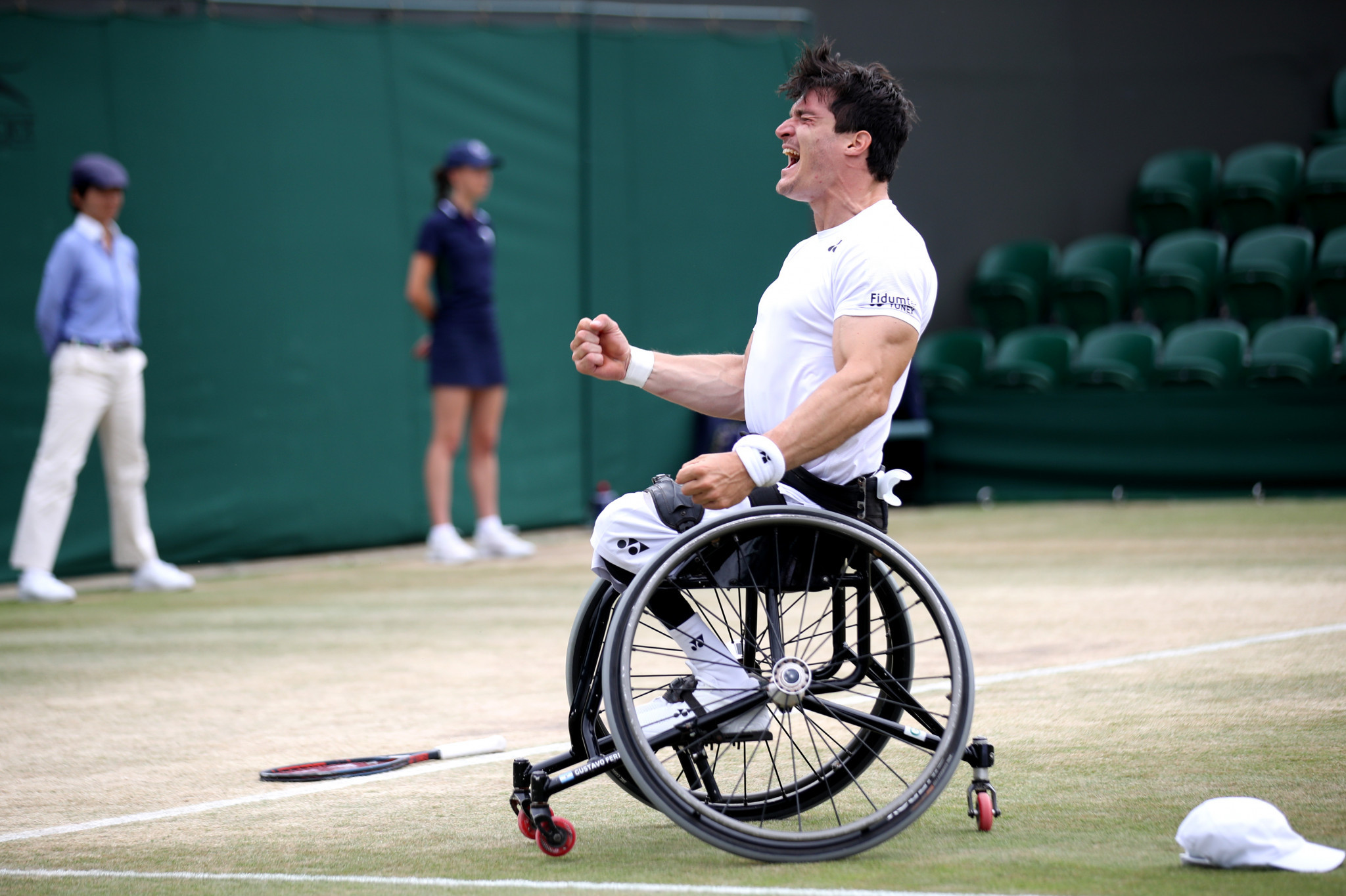 Wheelchair tennis player Gustavo Fernandez was among the other nominees ©Getty Images