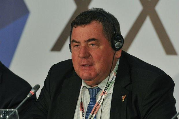 "International Sambo Federation (FIAS) President Vasily Shestakov insists all members of the world governing body are now ""united"" ©FIAS"