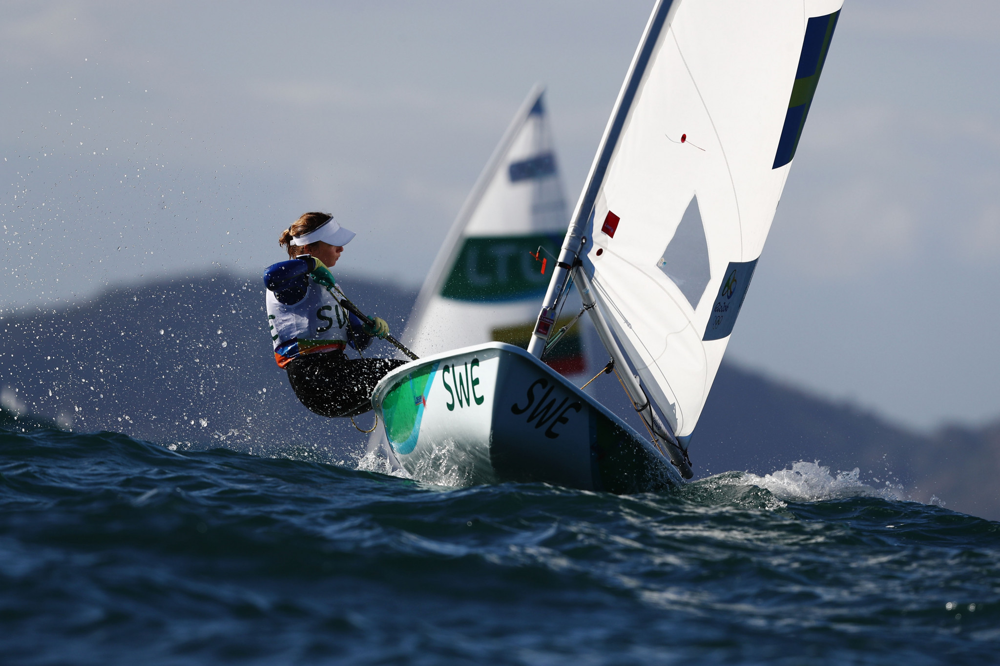 Olsson still in front after day three of Laser Radial Women's World Championship