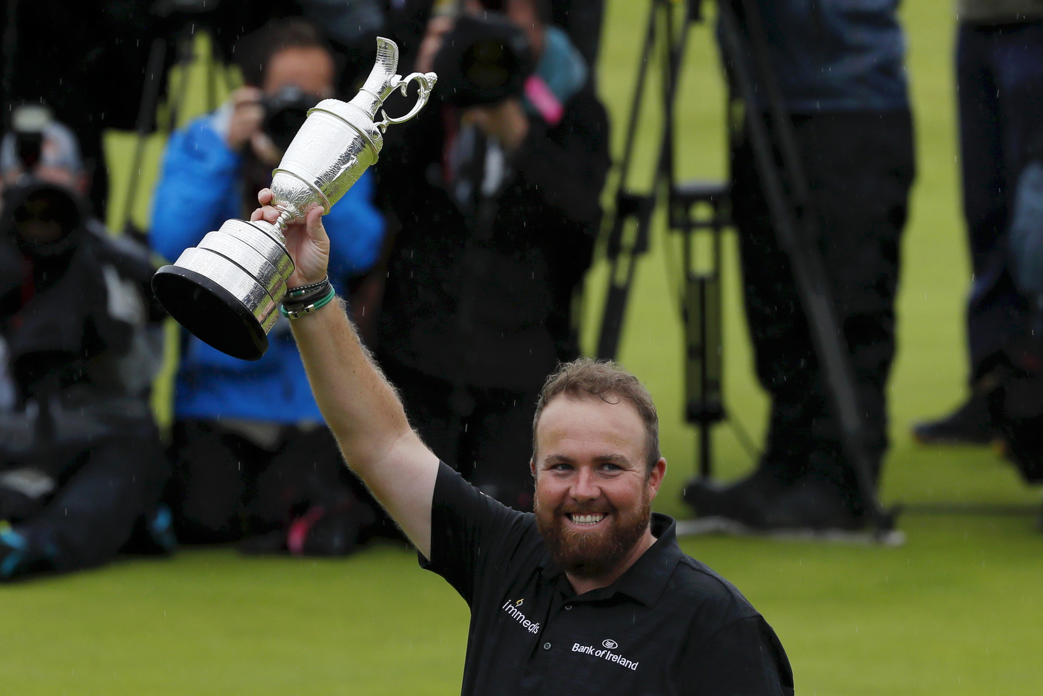 Ireland's Shane Lowry produced a composed final round at Royal Portrush ©Getty Images