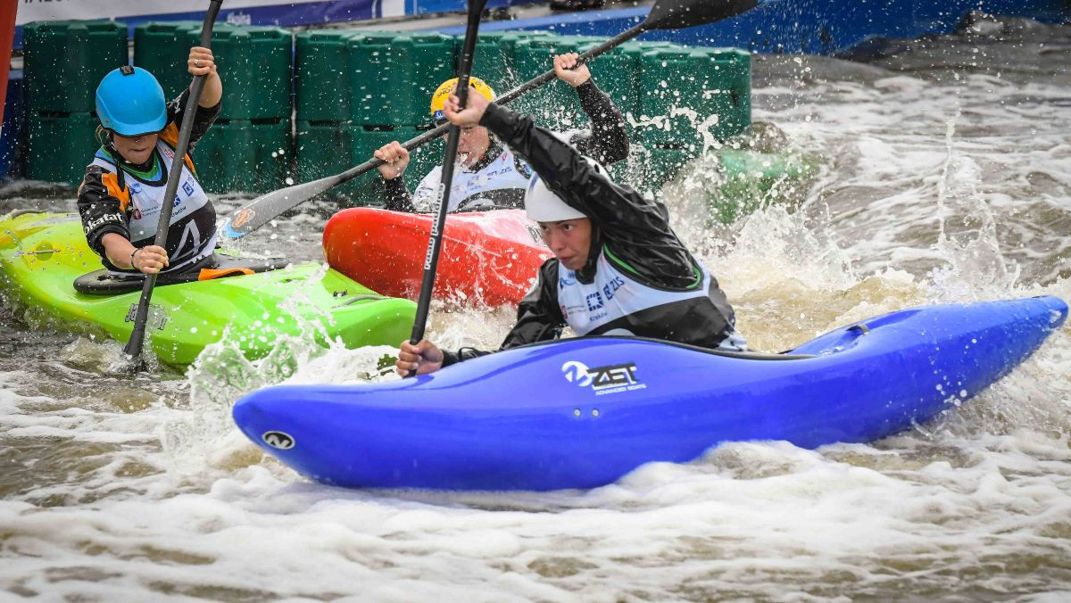 Brazil's Ana Satila picked up her second gold medal of the ICF Junior and Under-23 Canoe Slalom Championships ©ICF