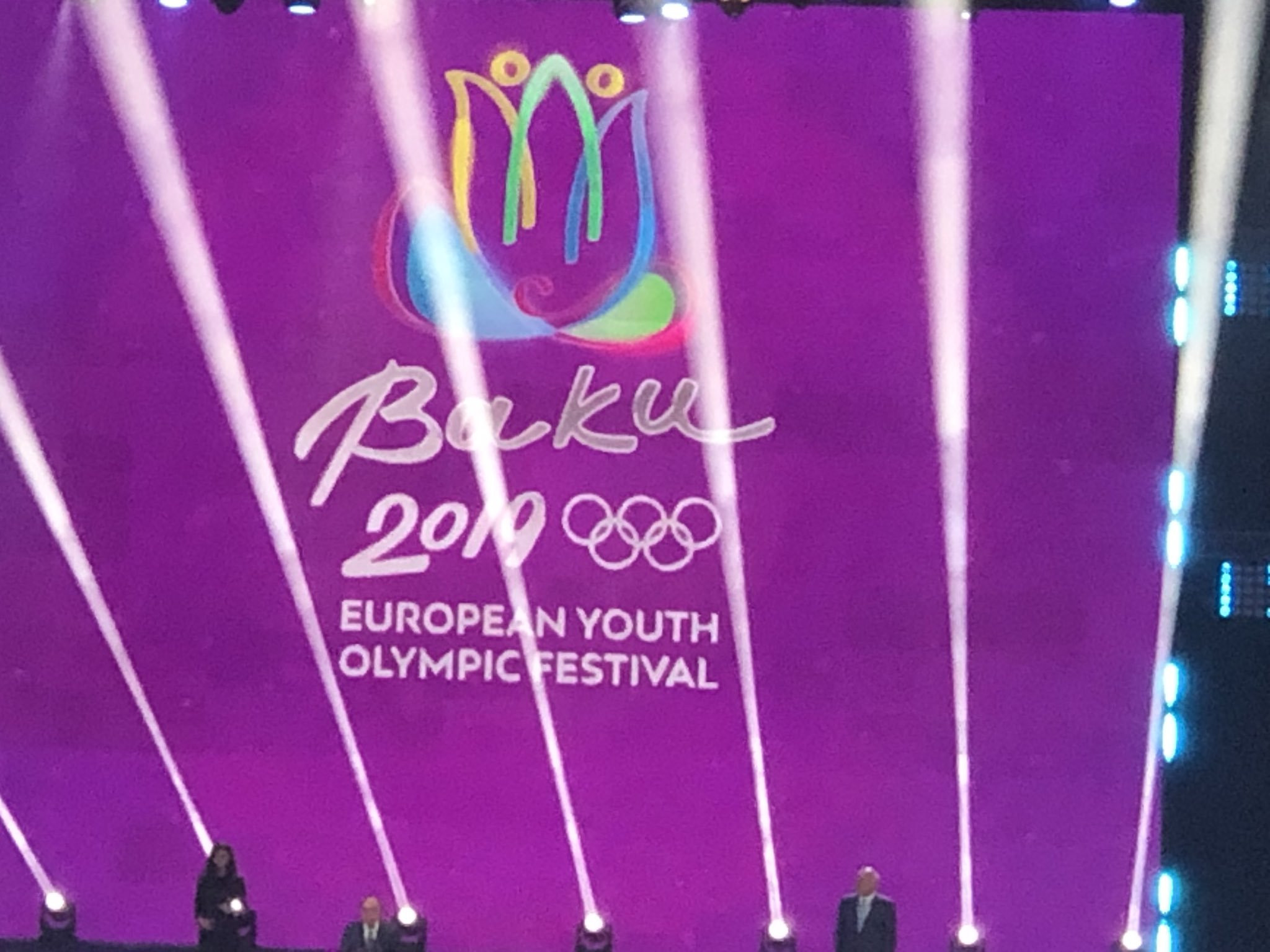 Azerbaijan President and First Lady in attendance as Summer EYOF opens in Baku