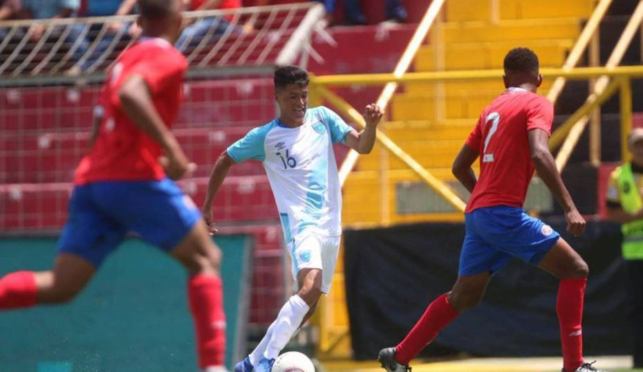 Costa Rica progressed to the Confederation of North, Central American and Caribbean Association Football men's Olympic Qualifying Championship despite losing 2-0 against Guatemala ©COG