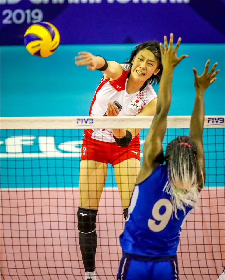 Japan ended the tournament with a 100 per cent record ©FIVB
