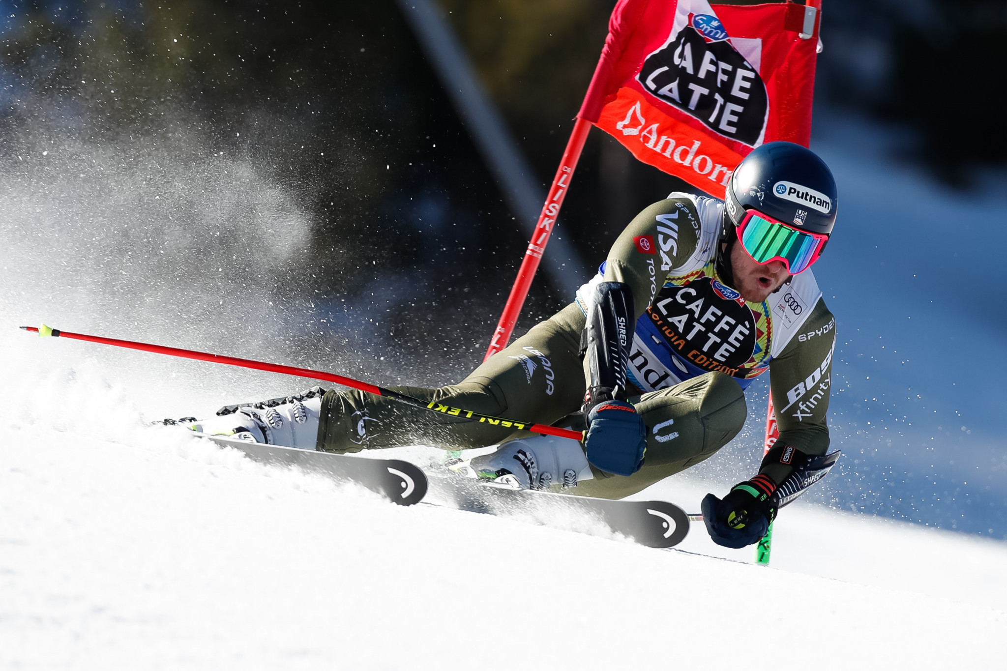 Ted Ligety is to focus on only giant slalom ©Getty Images