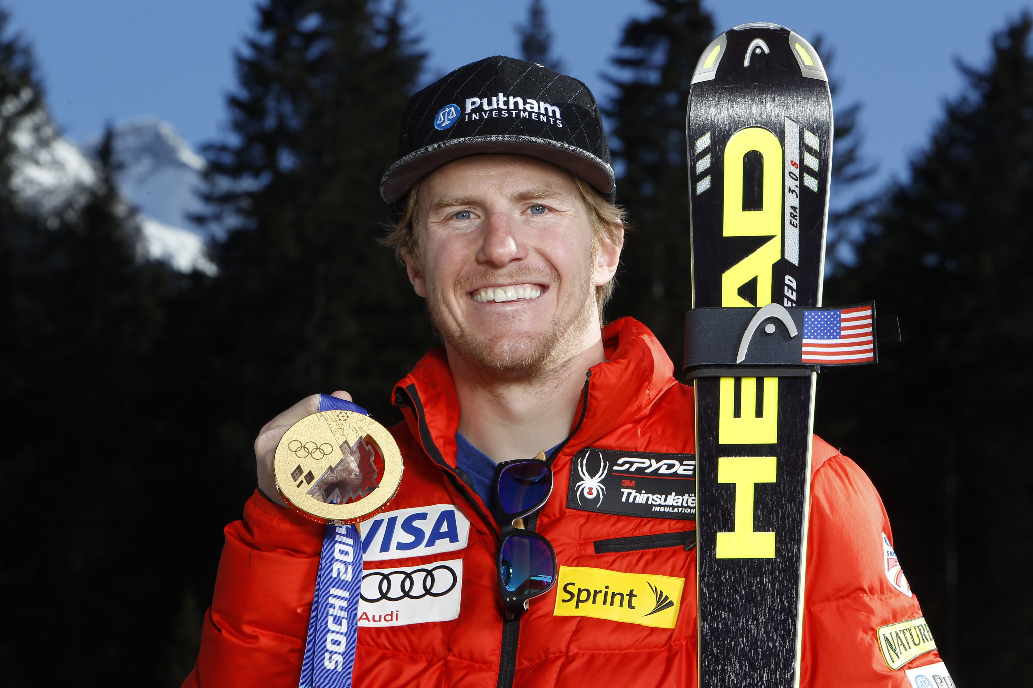 Ted Ligety won his second Olympic gold at Sochi 2014 ©Getty Images