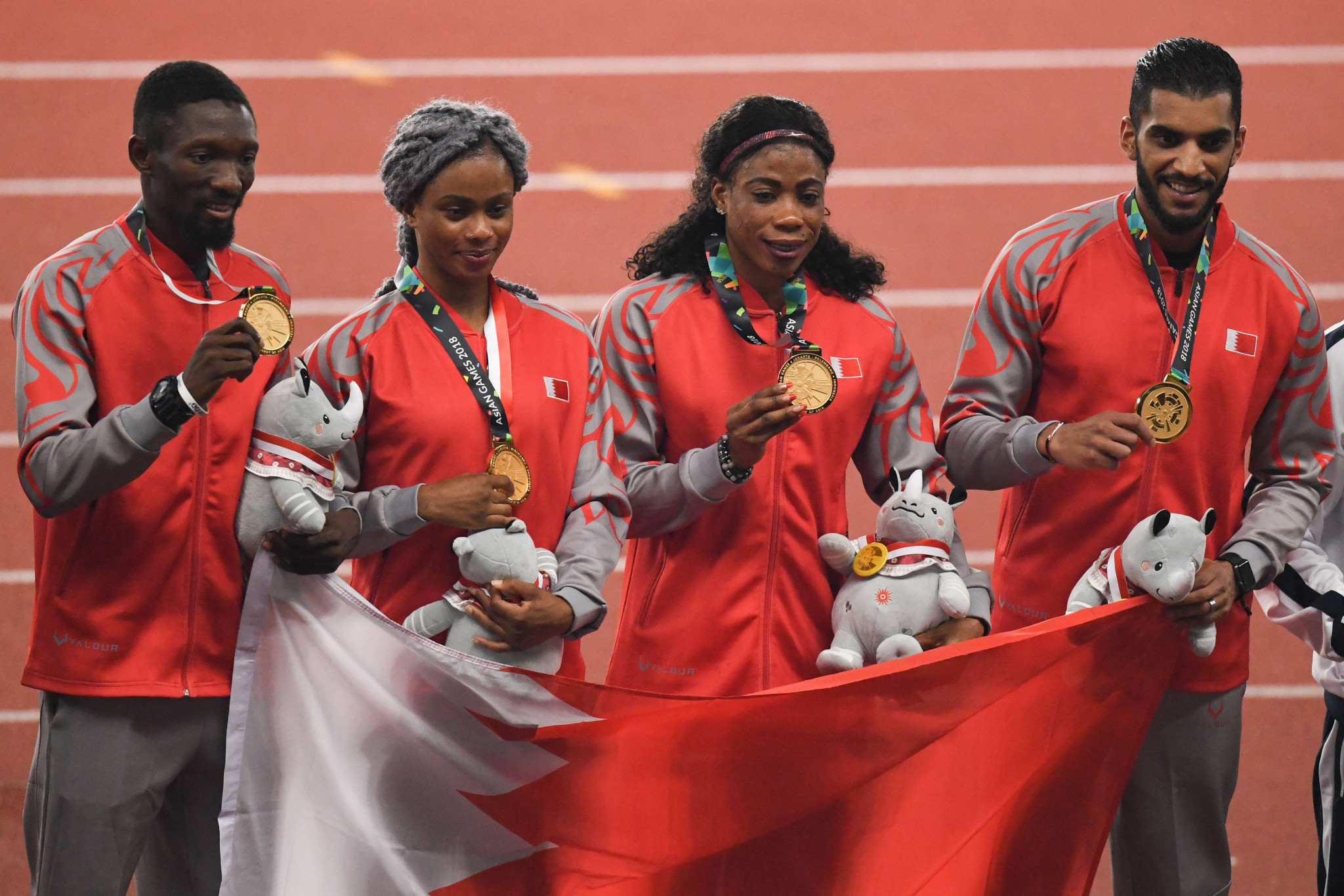 Bahrain will be stripped of the gold medal they won in the mixed 4x400m relay at the 2018 Asian Games ©Getty Images