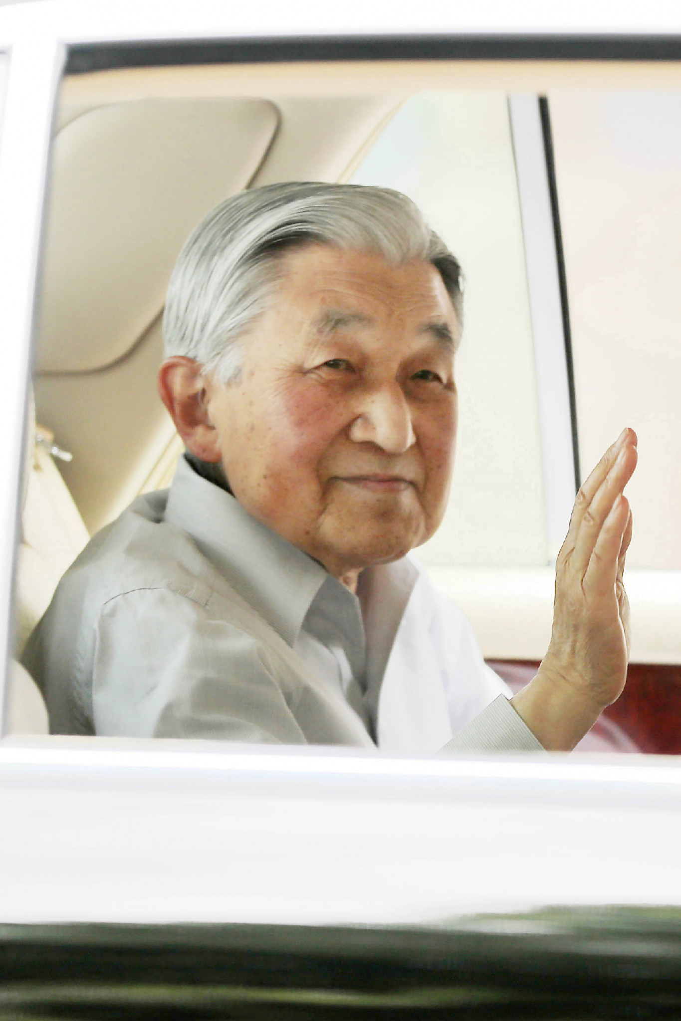 Akihito abdicated as Emperor this year so will not open the Tokyo 2020 Games ©Getty Images