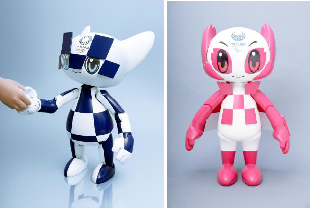 Robots set to play major role at Tokyo 2020 after new models unveiled