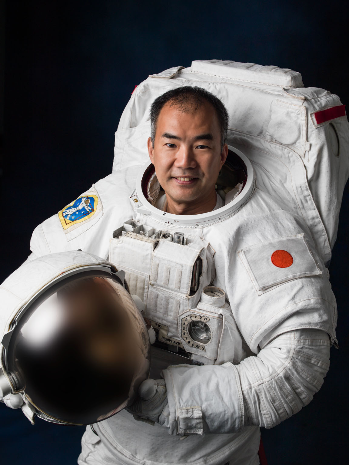 Two astronauts have been appointed as Tokyo 2020 Torch Relay space ambassadors ©JAXA