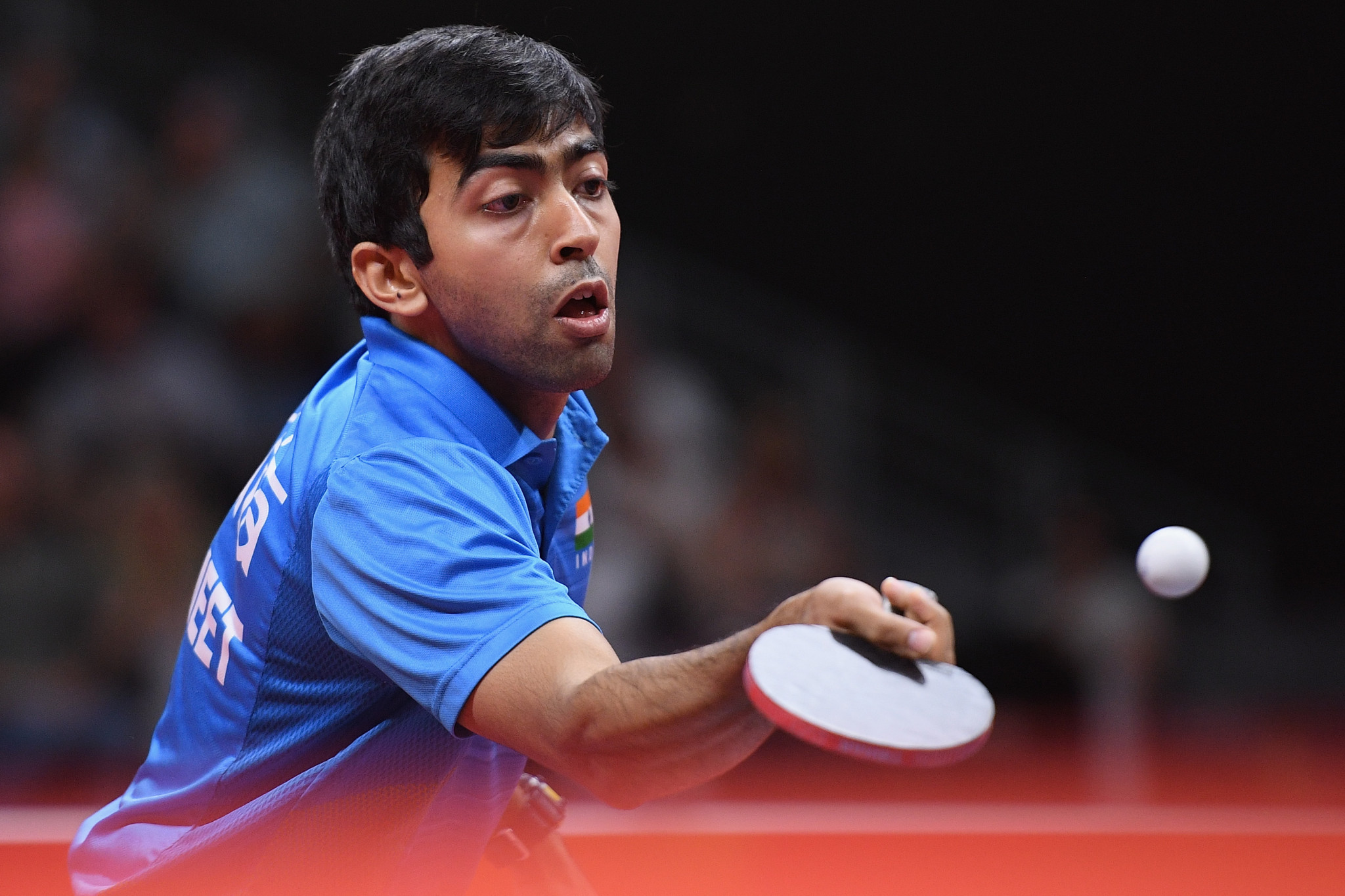 Harmeet Desai got the better of the world number 24 and compatriot Sathiyan Gnanasekaran to claim gold as India dominated the final day at the Commonwealth Table Table Championships ©Getty Images