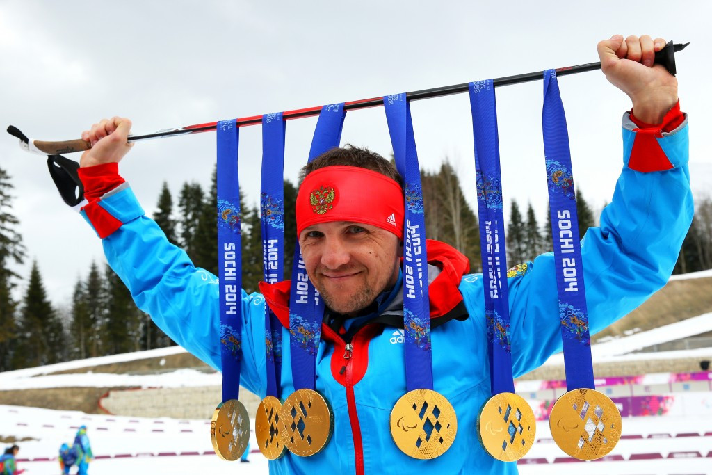Russia's Roman Petushkov was named Best Male having become the first athlete in history to win six golds at a single Paralympic Winter Games at Sochi 2014