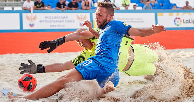 Four teams qualify for last 16 at FIFA Beach Soccer World Cup qualifier