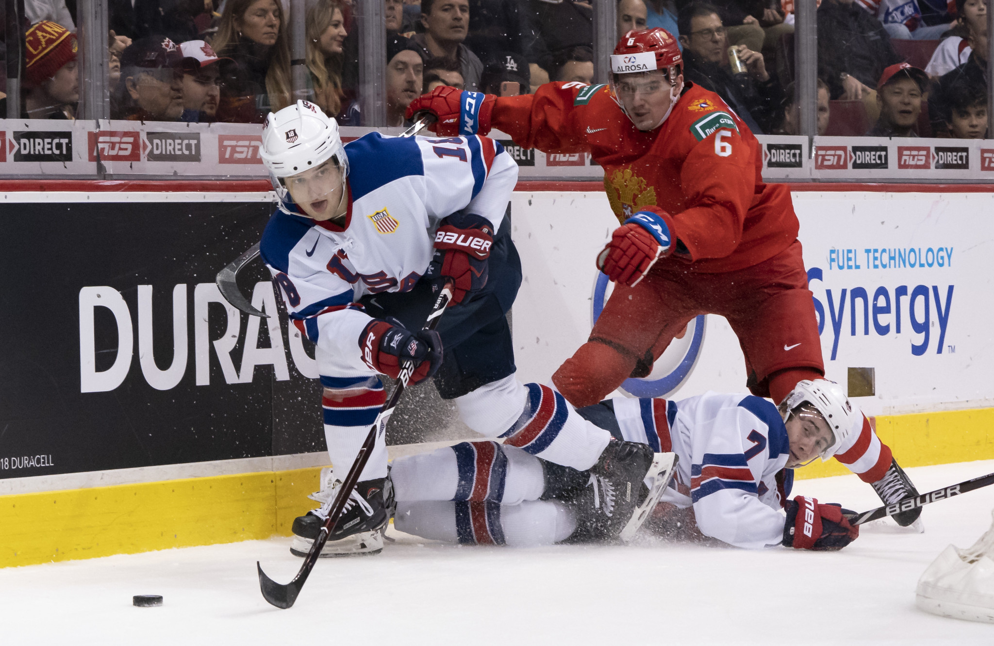 Oliver Wahlstrom is one of five returnees from the United States' silver medal-winning team at the 2019 IIHF World Junior Championship  ©Getty Images