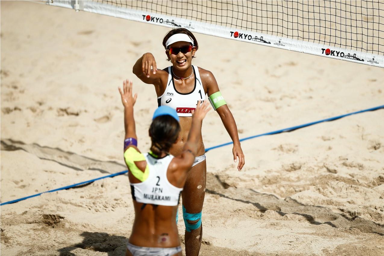 Le volleyball de plage sera le dernier sport à être testé avant Tokyo 2020 © FIVB
