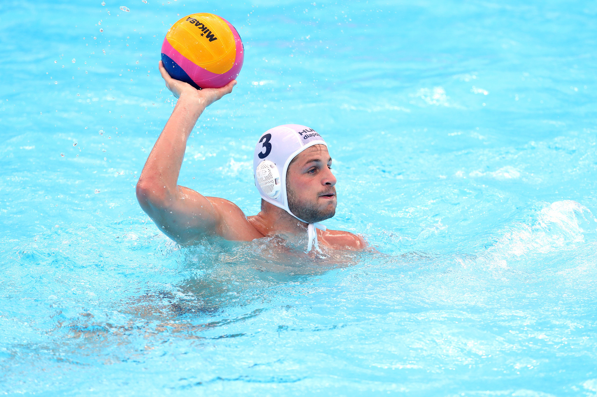 The men's quarter-finals were played in the water polo with Olympic champions Serbia knocked out  ©Getty Images