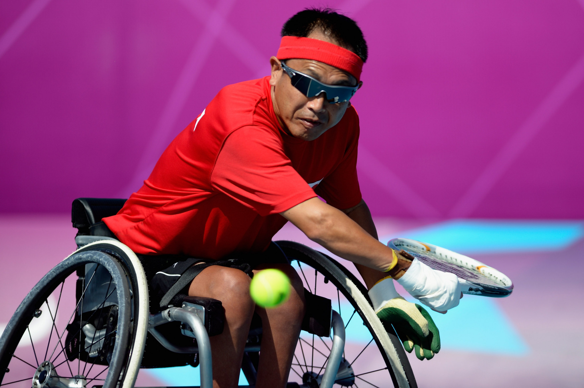 Japan's Moroishi to face quad singles top seed Lapthorne at British Open Wheelchair Tennis Championships